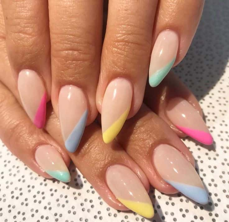 nails 2021 trends multi