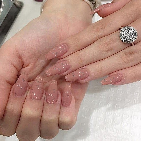 nail color trends 2021 nude