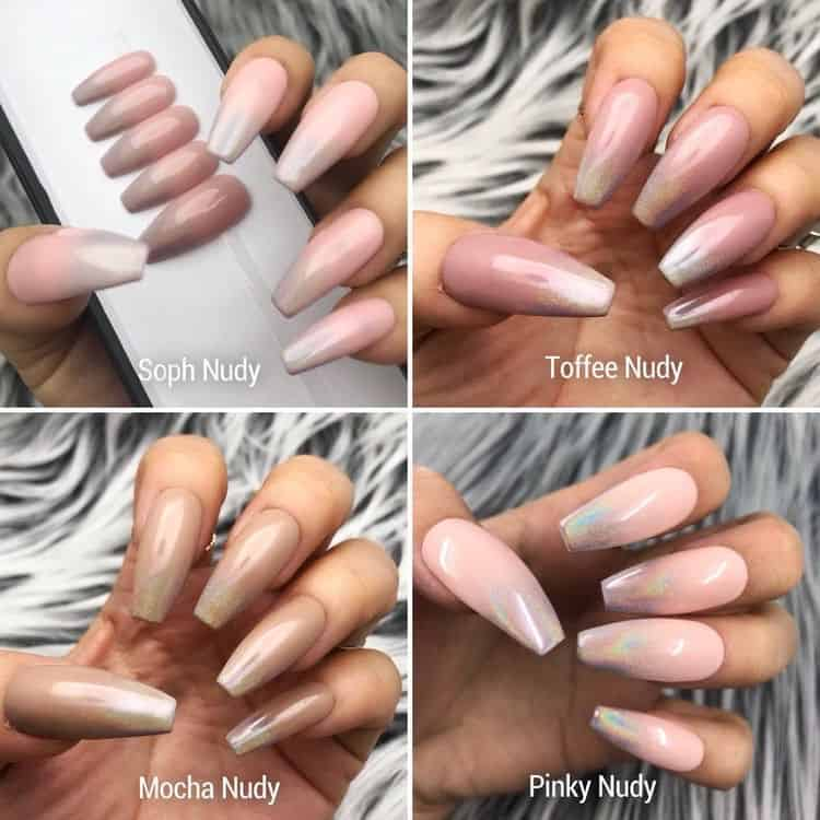 nail color trends 2021 nudes