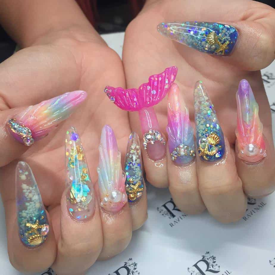 8 Most Alluring Japanese Nails 2021 Tendencies And Trends Stylish Nails