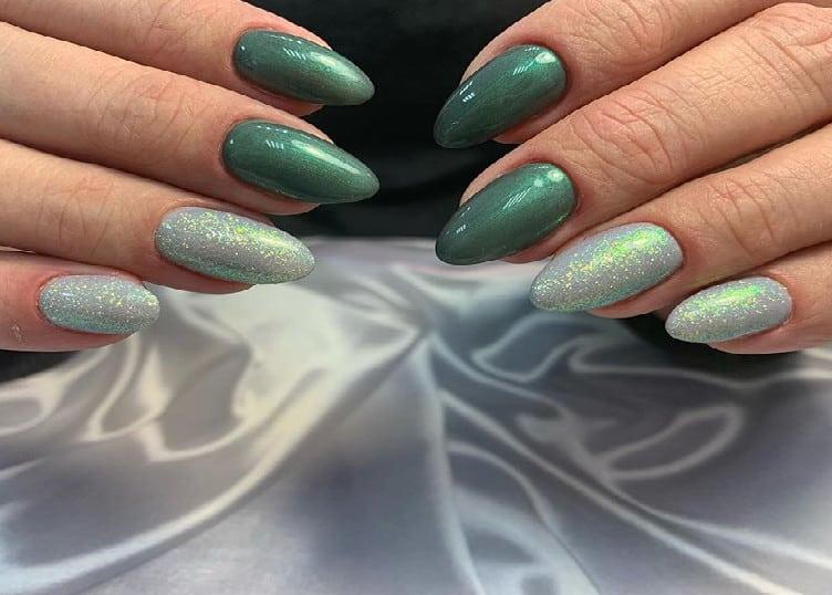 Season Trend Green Nails 2021