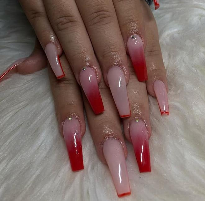 New 23 Fresh Trends for Red Nails 2021