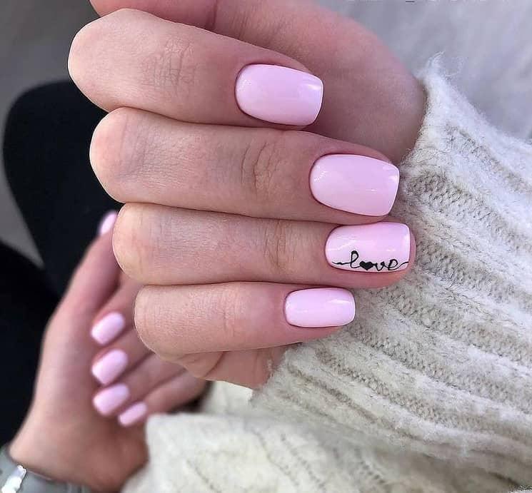 Pink Gel Nails 2022