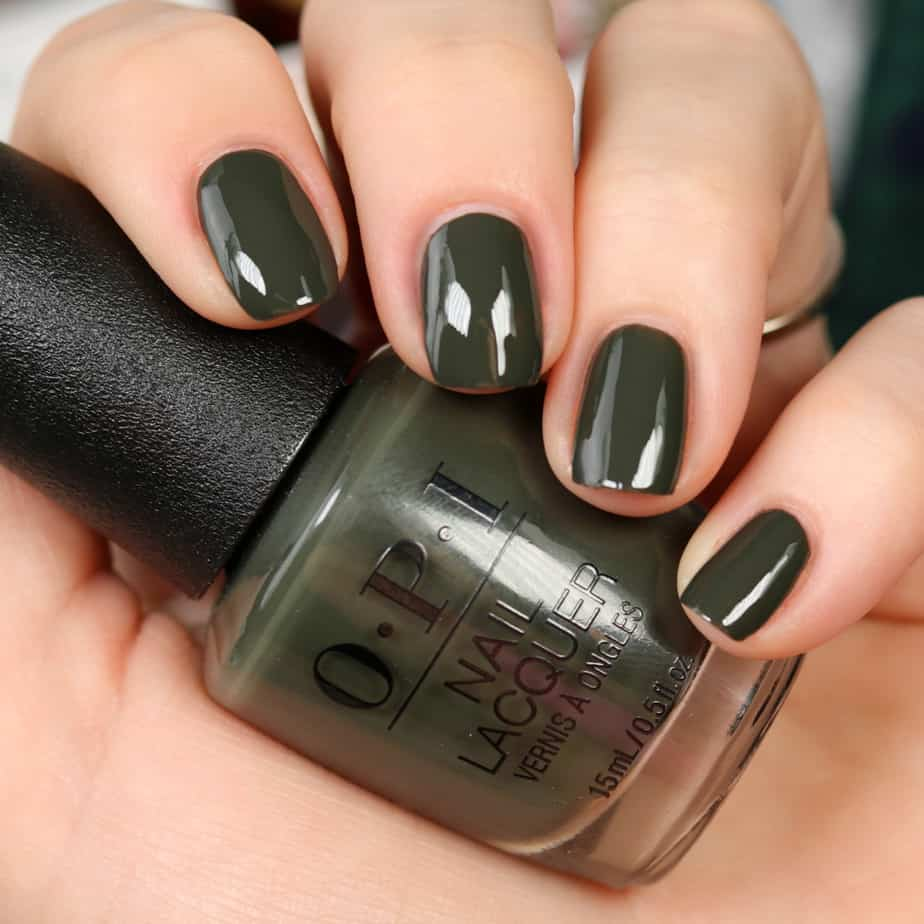 Top 5 colors make the collection for OPI fall 2022