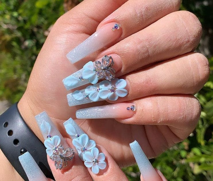 90's Reunion in Nails Art Trends 2022