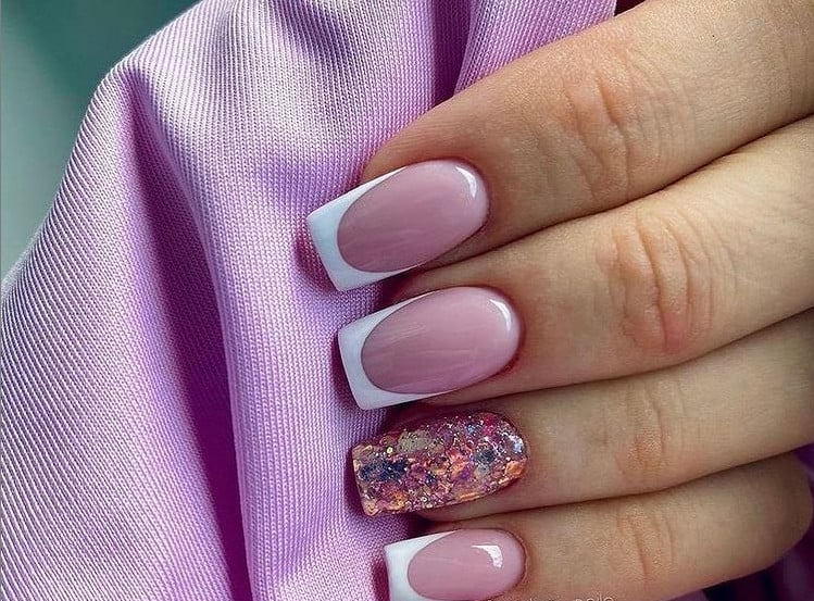 Pink Nails 2022 For Wedding