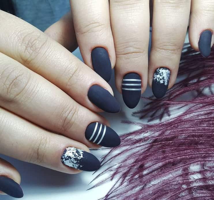 Mixture of Metal nail designs 2022
