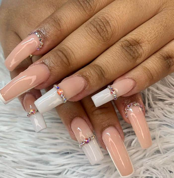 Top 21 Wedding Nails 2022! Fall In Love With French Nails Trends