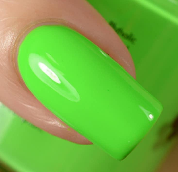 Slime Green - Summer Nail Colors 2022