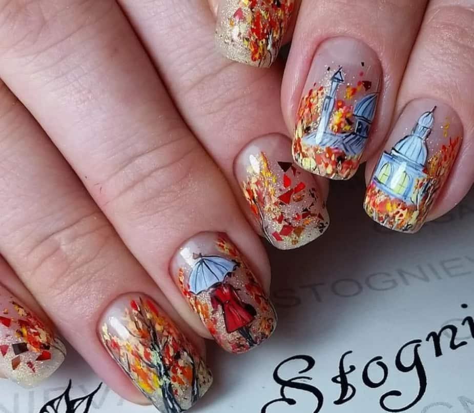Retro Nostalgia with Autumn Nails 2022