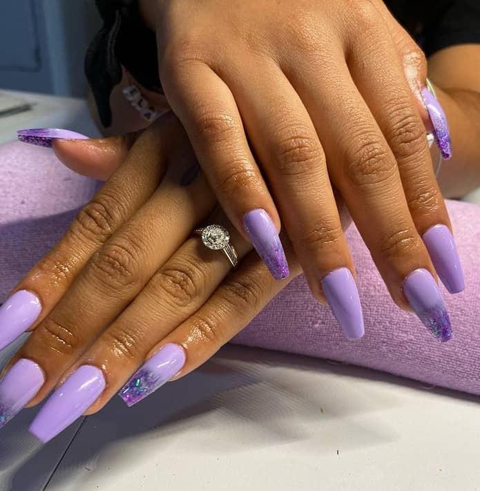 Purple Hue. Japan Nail Art 2022