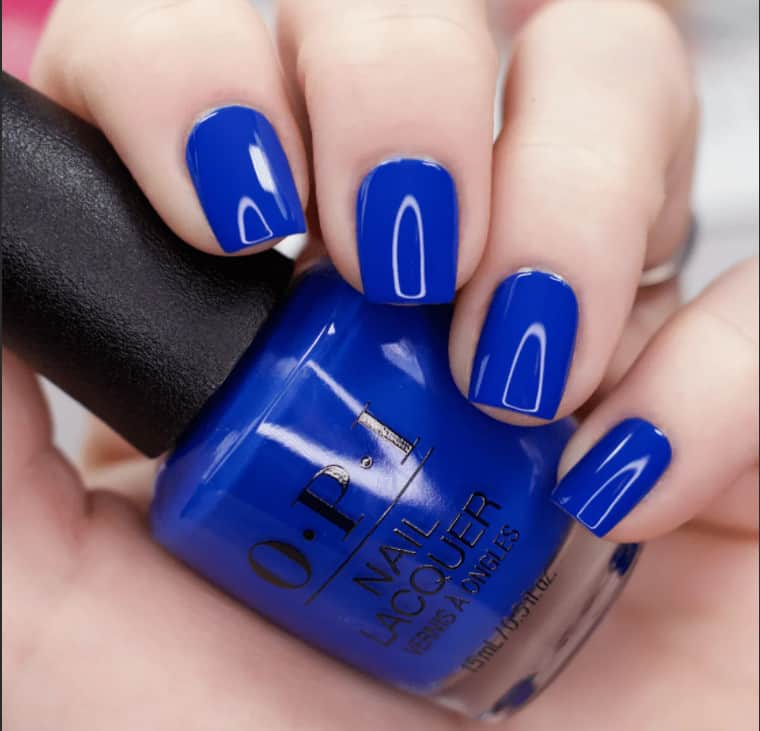 Sky Blue. Spring Nail Colors 2022