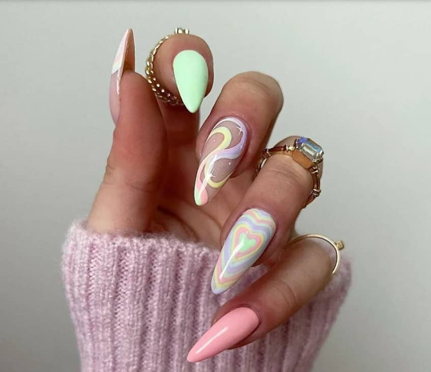 Different Tips on Each Spring Nail Trends 2022