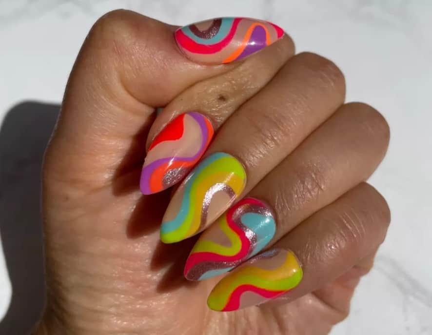 Choose Spring nail colors 2022