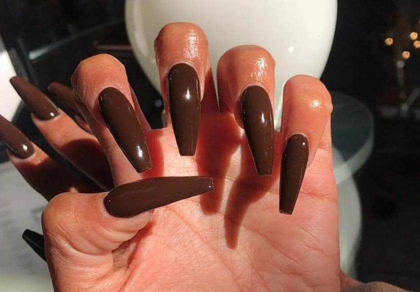 Aesthetic Wooden 2022 Coffin Nail Trends