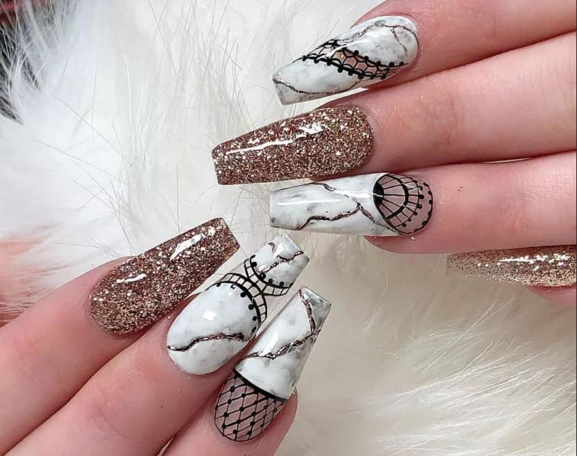 Ballerina Or Coffin Nails 2022: Top 14 Nail Trends To Try Now