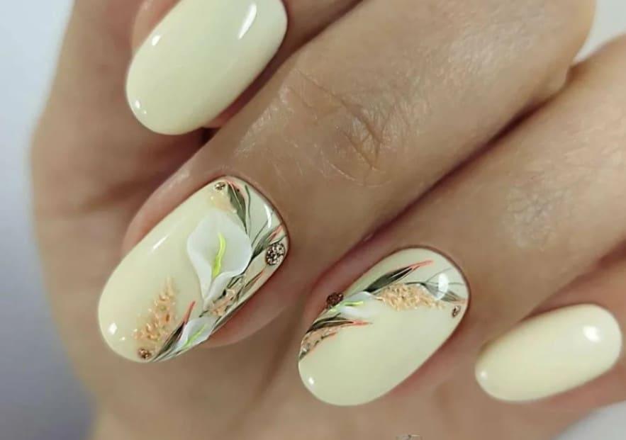 Celadon for Spring Gel Nails 2022