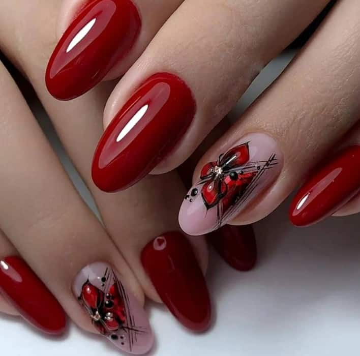 Red Nails Ideas 2022