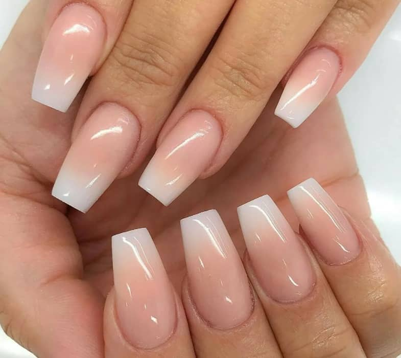 Fascinating Ombre. Coffin Nails 2022