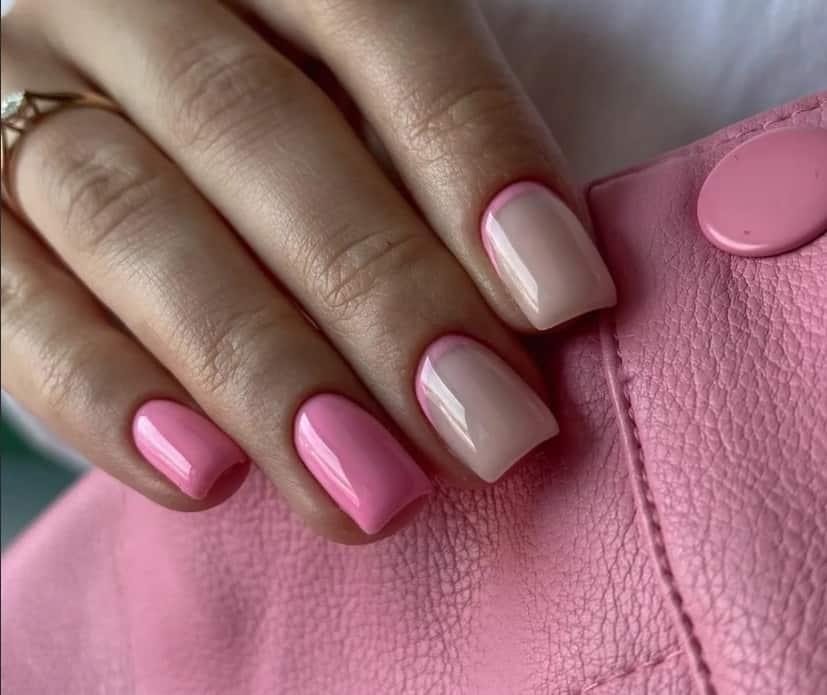 Elegant Pink Gel Nails 2022
